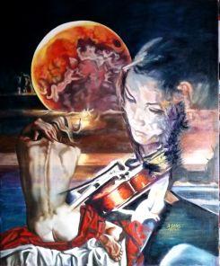 Exposición de pintura de Antonio Galán Ordoñez