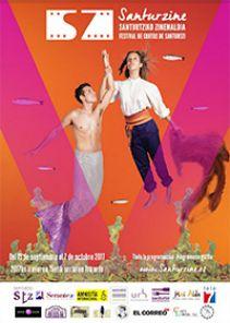 Cartel de la quinta edición del Santurzine